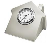 """Часы  """"Домик"""" Цвет: серебристый"""