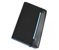 """Визитница """"New Style"""" на резинке  (60 визиток) Цвет: Голубой"""