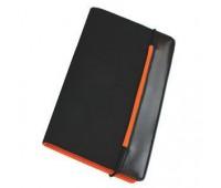"""Визитница """"New Style"""" на резинке  (60 визиток) Цвет: Оранжевый"""