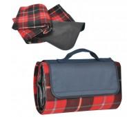 """Коврик для пикника  """"Шотландка"""" Цвет: красный"""