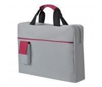Конференц-сумка SENSE с карманом  Цвет: Красный