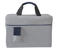 Конференц-сумка SENSE с карманом  Цвет: Синий