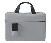 Конференц-сумка SENSE с карманом  Цвет: Черный