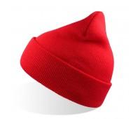 Шапка вязаная детская KID WIND Цвет: Красный