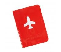 """Обложка для паспорта """"Flight""""  Цвет: Красный"""