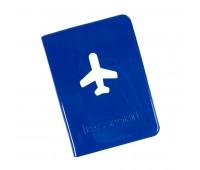 """Обложка для паспорта """"Flight""""  Цвет: Синий"""