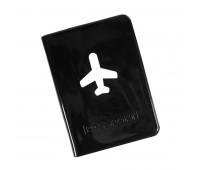 """Обложка для паспорта """"Flight"""" Цвет: Черный"""