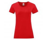 Футболка женская LADIES ICONIC 150 Цвет: Красный