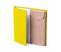 Набор LUMAR: листы для записи (60шт) и цветные карандаши (6шт) Цвет: Желтый