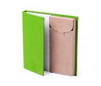 Набор LUMAR: листы для записи (60шт) и цветные карандаши (6шт) Цвет: Зеленый
