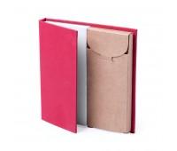 Набор LUMAR: листы для записи (60шт) и цветные карандаши (6шт) Цвет: Красный