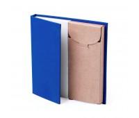 Набор LUMAR: листы для записи (60шт) и цветные карандаши (6шт) Цвет: Синий