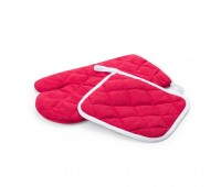 Набор: прихватка и рукавица LESTON Цвет: Красный