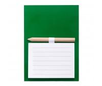 Магнит с листами для записи и карандашом YAKARI Цвет: Зеленый