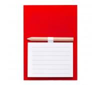 Магнит с листами для записи и карандашом YAKARI Цвет: Красный
