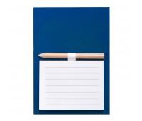 Магнит с листами для записи и карандашом YAKARI Цвет: Синий