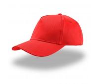 Бейсболка детская KID START FIVE, 5 клиньев, застежка на липучке Цвет: Красный
