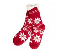 Носки УЮТНЫЕ   Цвет: красный, белый