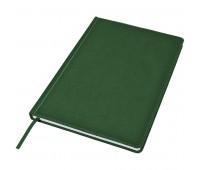 Ежедневник недатированный Bliss, А4,  темно-зеленый, белый блок, без обреза Цвет: Зеленый