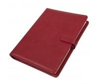 Ежедневник недатированный Coach, формат B5 в подарочной коробке Цвет: Бордовый