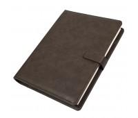 Ежедневник недатированный Coach, B5, коричневый, кремовый блок, подарочная коробка Цвет: Коричневый