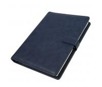 Ежедневник недатированный Coach, формат B5 в подарочной коробке Цвет: Темно-синий