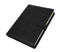 Ежедневник недатированный Coach, формат B5 в подарочной коробке Цвет: Черный