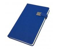 Ежедневник недатированный Linnie, формат А5 Цвет: Синий