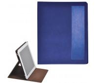"""Чехол-подставка под iPAD """"Смарт"""",  синий,  19,5x24 см,  термопластик, тиснение, гравировка  Цвет: Синий"""