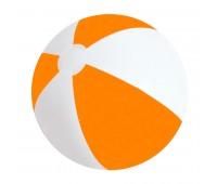 """Мяч надувной """"ЗЕБРА"""",  45 см Цвет: Оранжевый"""