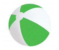 """Мяч надувной """"ЗЕБРА"""", 45 см Цвет: Зеленый"""