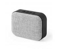 Bluetooth колонка FABRIC прямоугольная Цвет: черный, серый