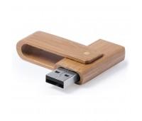 USB флеш карта 16Gb Bamboo Цвет: натуральный
