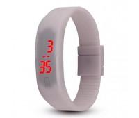 Часы наручные электронные A-WATCH в пластиковой коробке, цвет серый Цвет: Серый