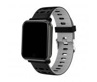 браслет к часам SAM черный/серый Цвет: Серый