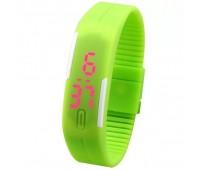 Часы наручные электронные A-WATCH в пластиковой коробке, цвет зеленый Цвет: Зеленый