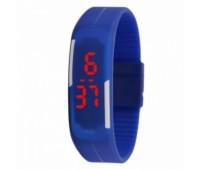 Часы наручные электронные A-WATCH в пластиковой коробке, цвет синий Цвет: Синий