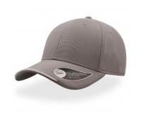 Бейсболка ESTORIL, 6 клиньев, застежка на липучке Цвет: Серый