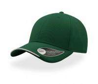 Бейсболка ESTORIL, 6 клиньев, застежка на липучке Цвет: Зеленый