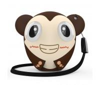 Беспроводная колонка Hiper ZOO Katy, Monkey Цвет: коричневый