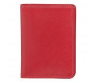 """Бумажник водителя  """"Модена"""" в подарочной упаковке Цвет: Красный"""