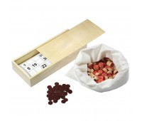 Русское лото в деревянной коробке  Цвет: бежевый
