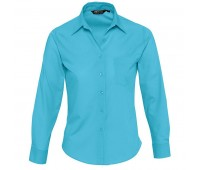 Рубашка женская EXECUTIVE 105 Цвет: Бирюзовый