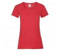 Футболка женская LADY FIT VALUEWEIGHT T 165 Цвет: Красный