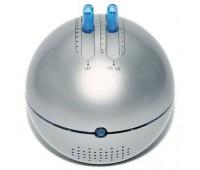 """FM/AM-радио """"Метеор"""" с подсветкой и динамиком Цвет: серебристый"""