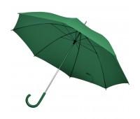 Зонт-трость с пластиковой ручкой, механический Цвет: Зеленый