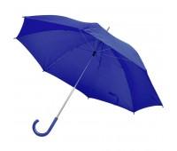 Зонт-трость с пластиковой ручкой, механический Цвет: Синий