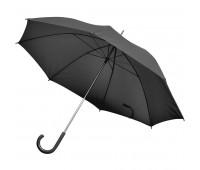 Зонт-трость с пластиковой ручкой, механический Цвет: Черный