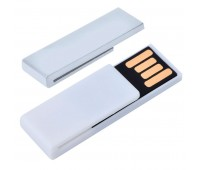 "USB flash-карта ""Clip"" (8Гб) Цвет: Белый"