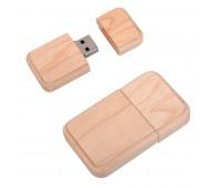 """USB flash-карта """"Wood"""" (8Гб) Цвет: бежевый"""